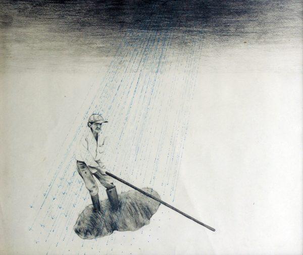 Dibujo del Chulo Aguilar